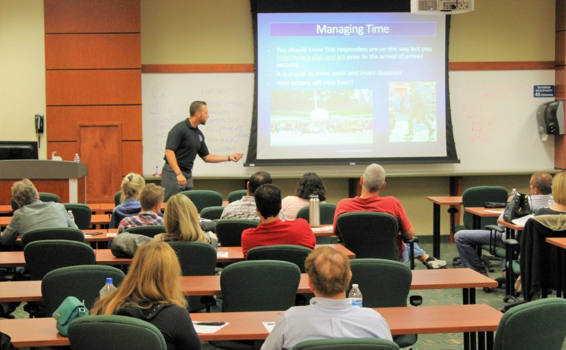 How to Survive an Active Shooter Workshop by Guardian Defense