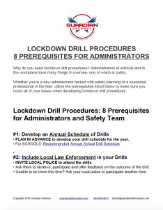 download PDF lockdown drill procedures 8 prerequisites for administrators