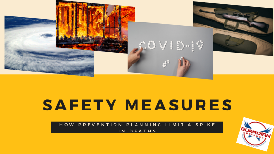 How Safety Measures and Prevention Planning Limit a Spike in Deaths