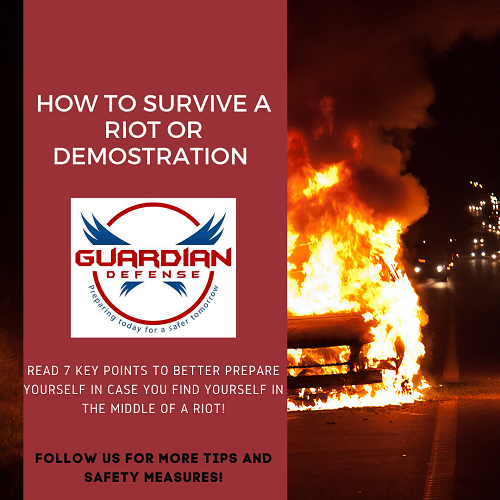 How to Survive a Riot or Demonstration Safely