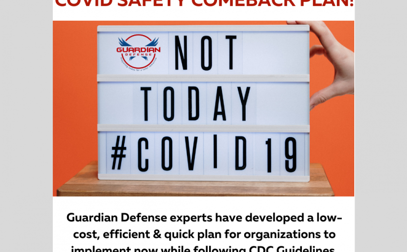 COVID safety comeback plan banner