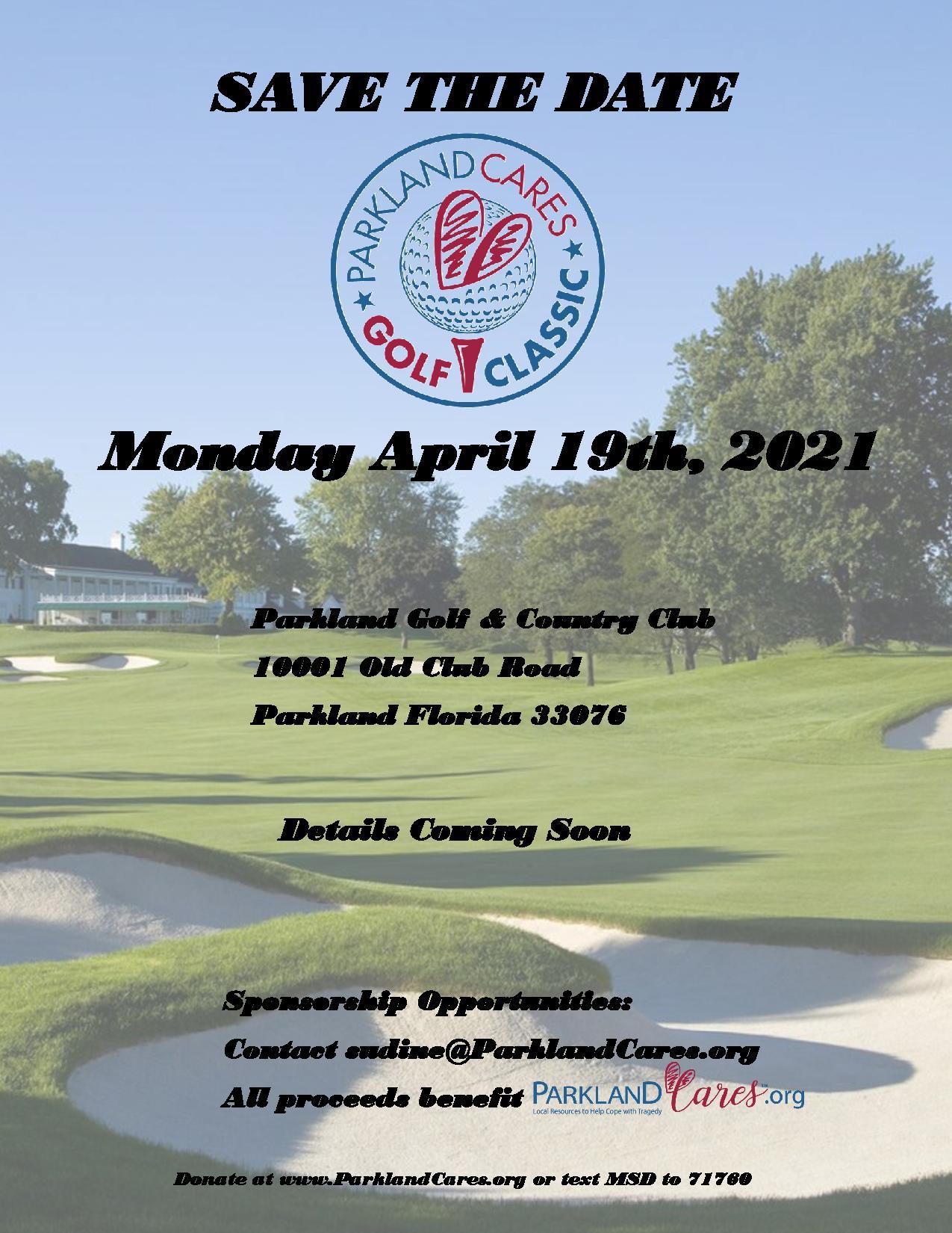 Parkland Cares Golf Tournament