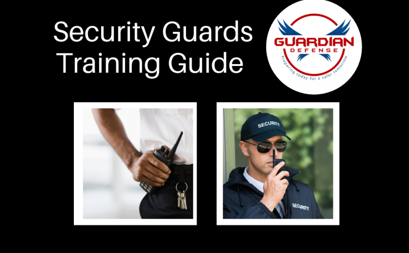 Security Guards Training Guide