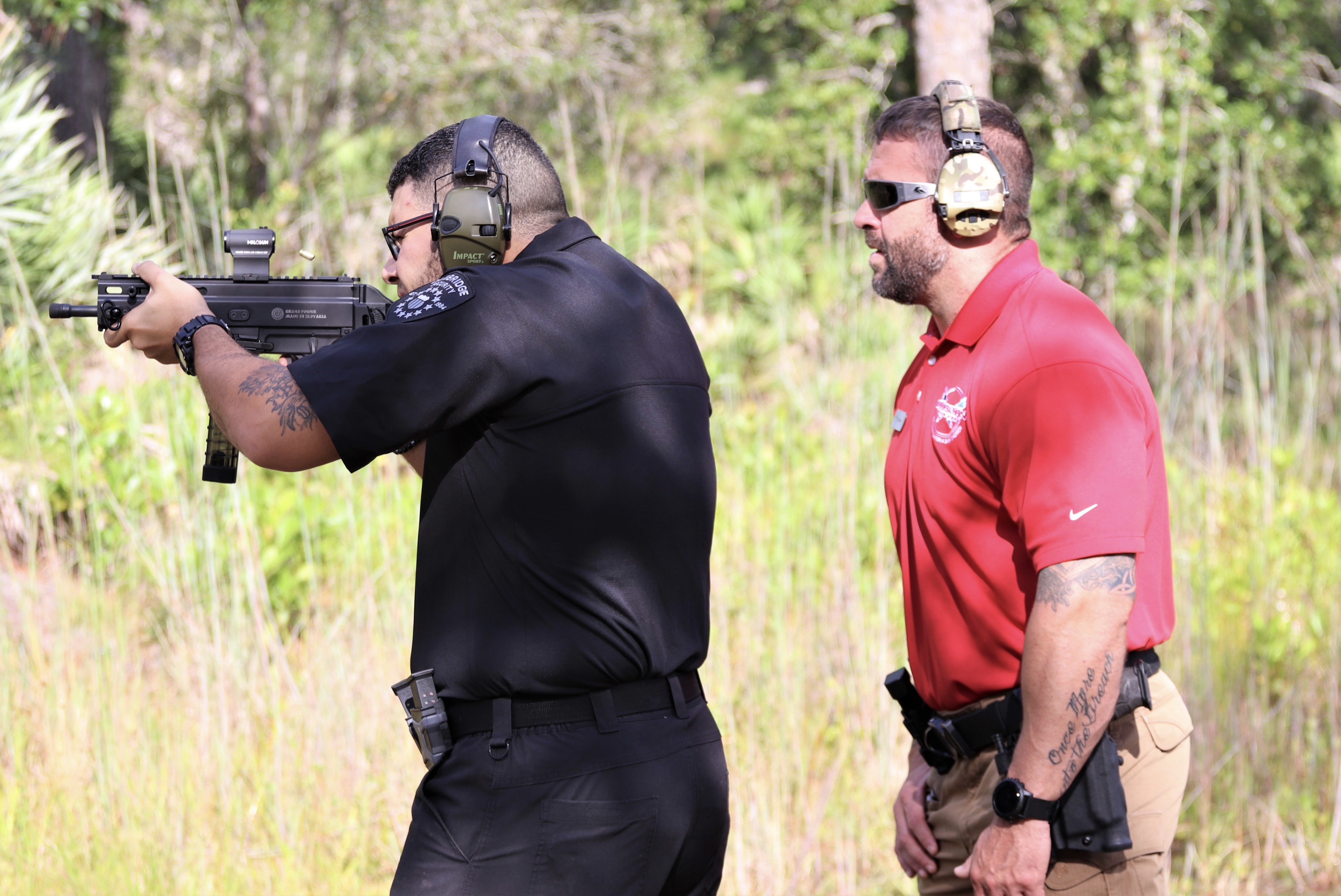 Armed Security Guard Training 1